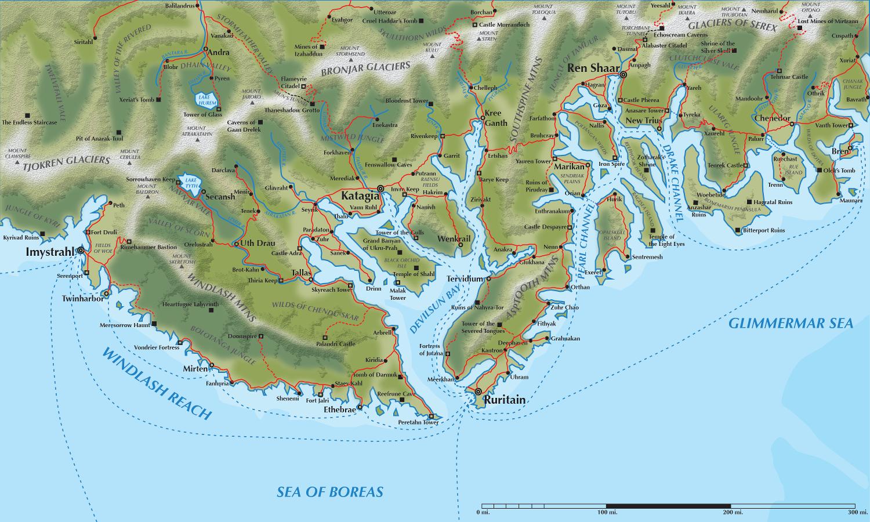 5E Primeval Thule PDF Maps
